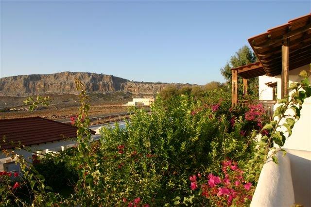 Hotel Lindos Sun - uitzicht