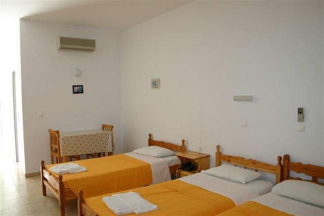 Appartementen Yota Beach -  slaapgedeelte