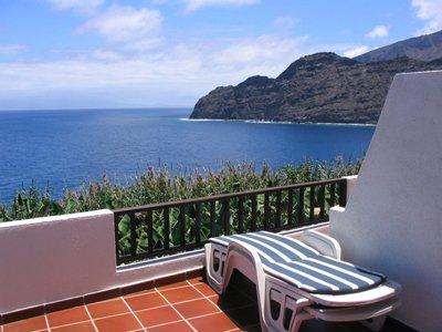 Appartementen Los Delfines - balkon en uitzicht