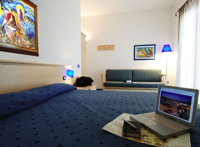 Hotel La Battigia - slaapkamer