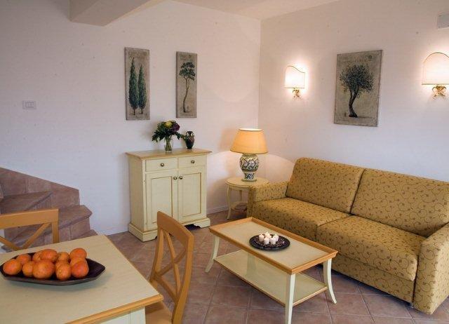 Appartementen Dei Margi - woonkamer