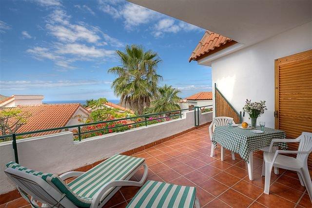 Appartementen Isla Verde - terras