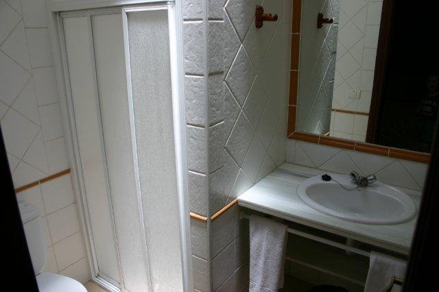 Appartementen Casas de Piedra - badkamer