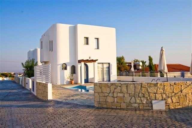 Villa Meltemi - hoek villa