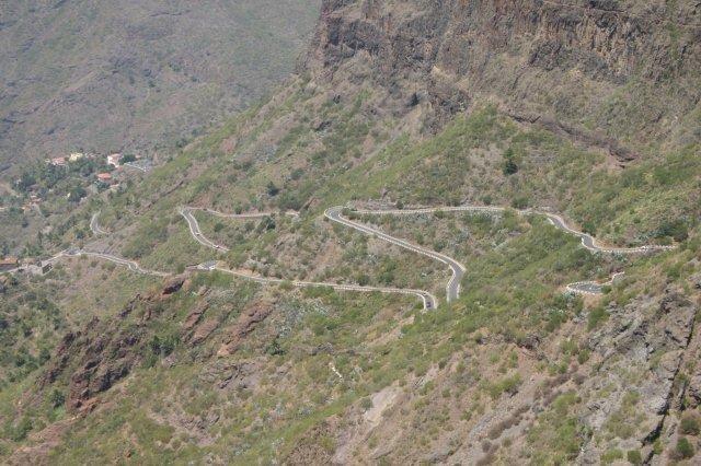 Fly-drive Tenerife - bergweg