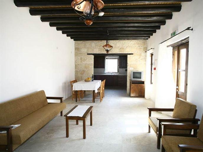 Village Houses Leonidas - woonkamer