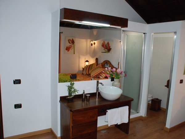 Hotel Rural Bentor - badkamer