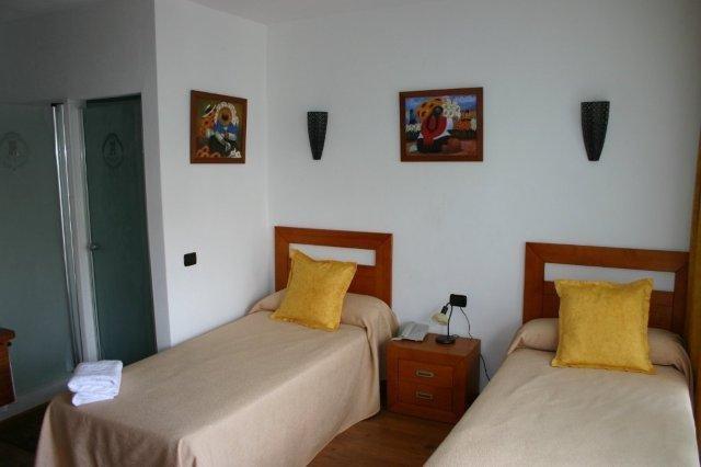 Hotel Rural Bentor - hotelkamer modern