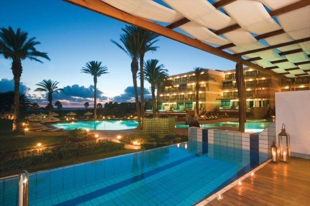 Hotel Asimina suites - tuin