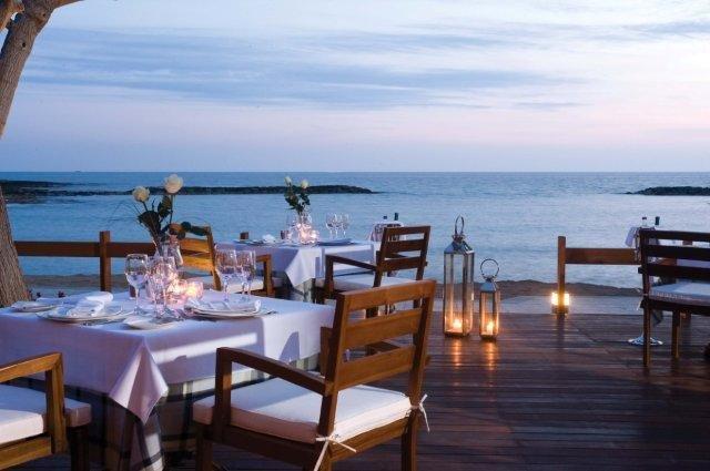 Hotel Asimina suites - terras restaurant
