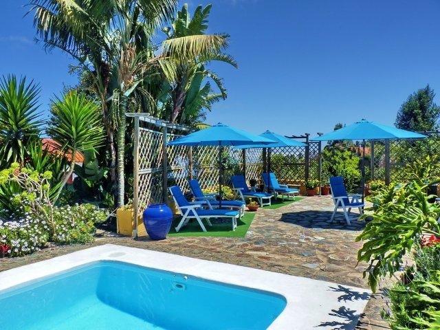 Casita Las Breveritas - zitje en zwembad