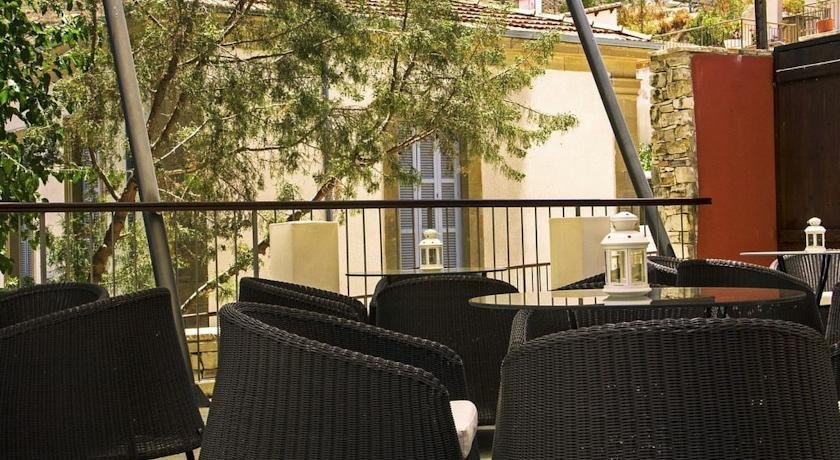 Hotel The Library - terras