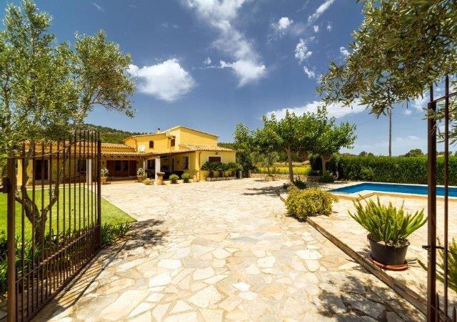Villa Can Pedro - aankomst