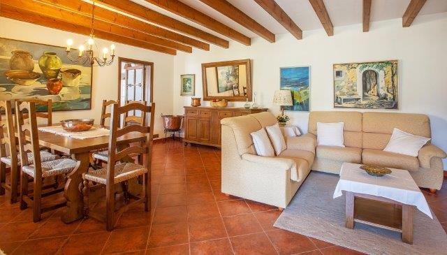 Villa Encis - woonkamer