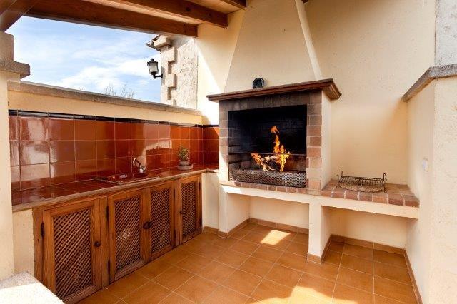 Villa Magdalena - buitenkeuken
