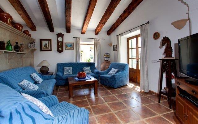 Villa Toni Mosca - woonkamer