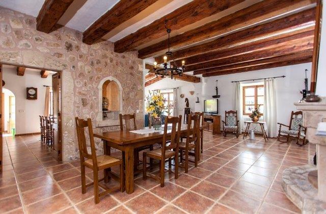 Villa Toni Mosca - eettafel