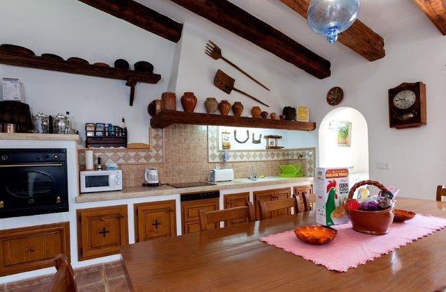 Villa Toni Mosca - keuken