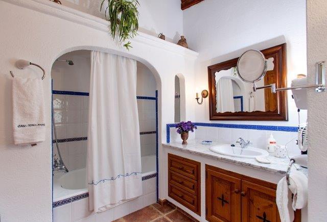 Villa Toni Mosca - badkamer