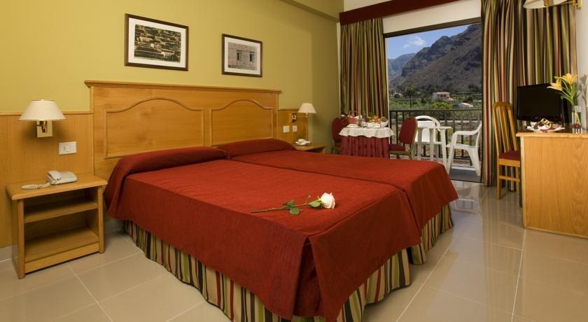 Hotel Gran Rey - hotelkamer landzicht
