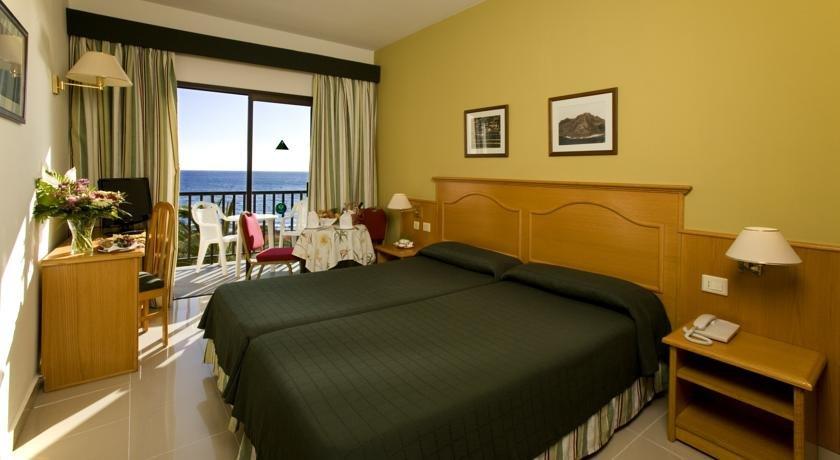 Hotel Gran Rey - hotelkamer zeezicht