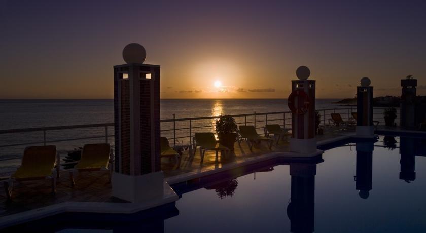 Hotel Gran Rey - zonsondergang