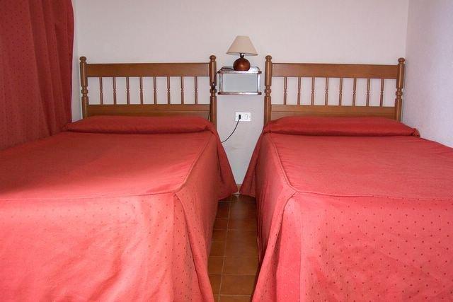 Appatementen Tarajales - slaapkamer