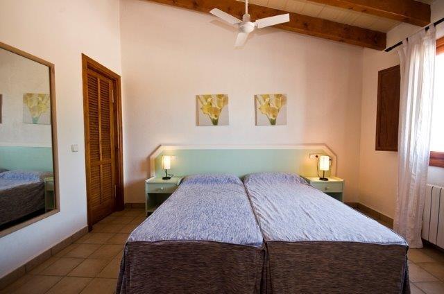 Villa Oscols - slaapkamer
