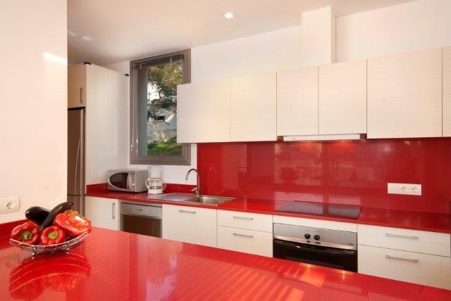 Appartementen Cala Molins - keuken