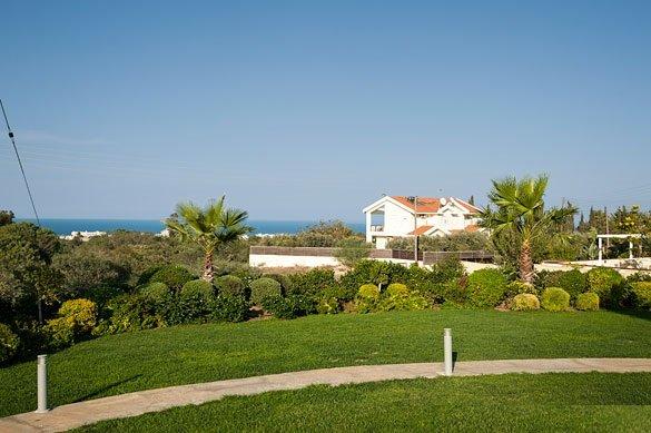 Villa Salamis - uitzicht