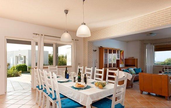 Villa Salamis - eettafel
