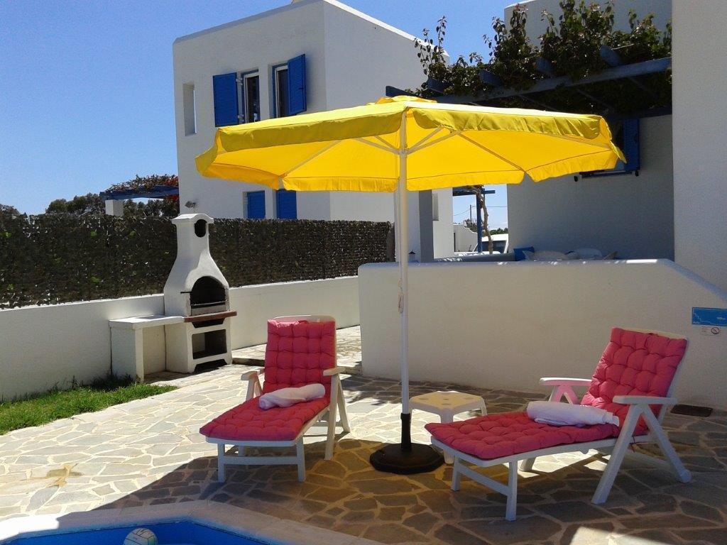 Villa Blue - tuin