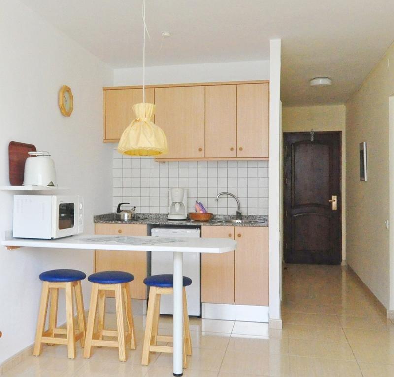 Appartementen Dunasol - keuken