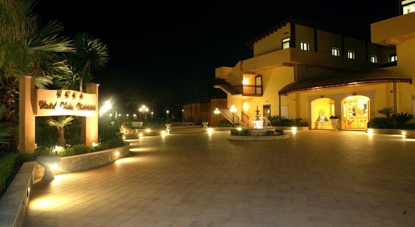 Hotel Villa Romana - entree