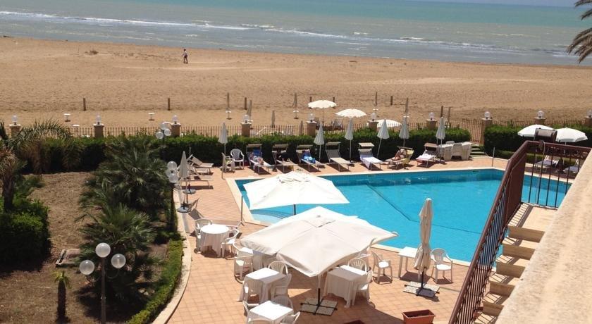 Hotel Villa Romana - uitizcht