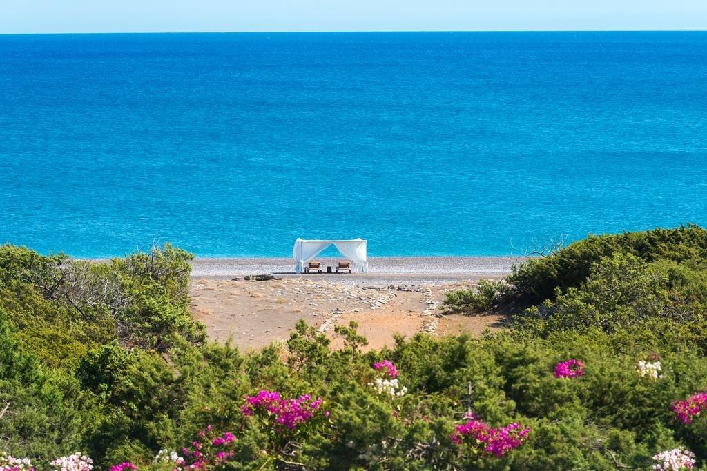 Villa Akti - uitzicht