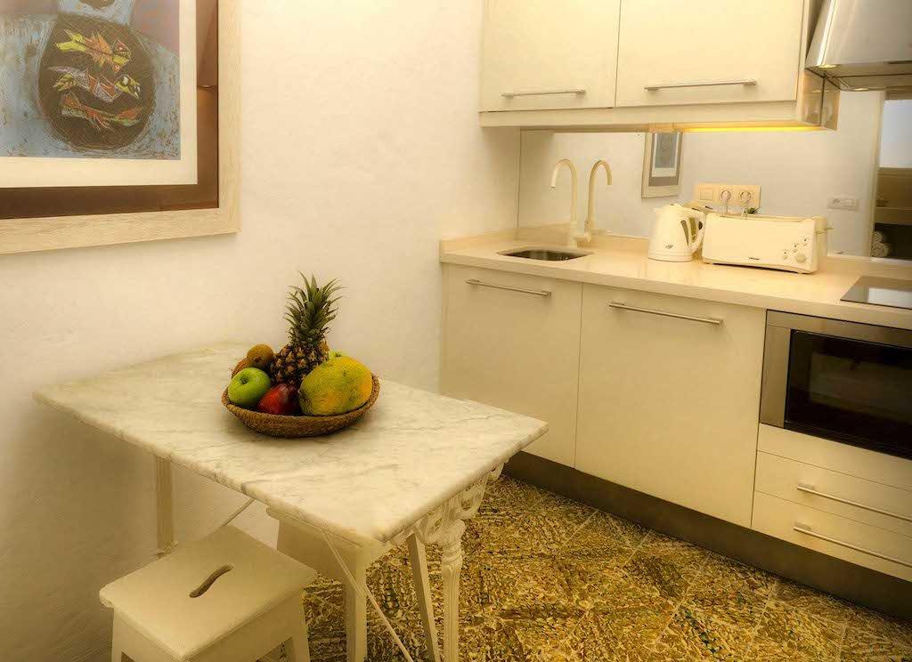 Casita Caleton del Golfo - Abuelos keuken