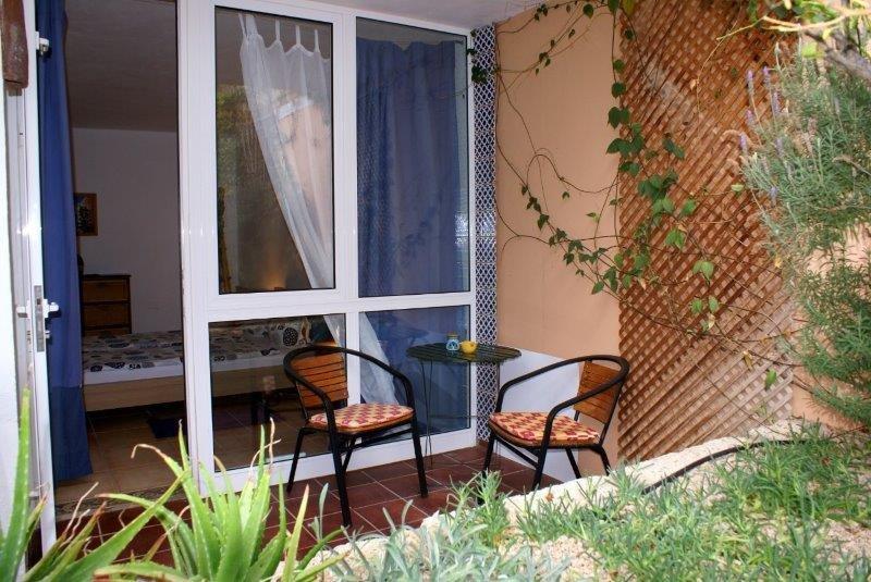 Appartementen San Miguel - terras