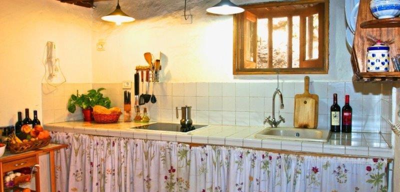 Casa El Palmeral de Valle - keuken