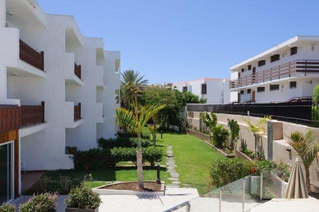 Appartementen Dunasol - tuin
