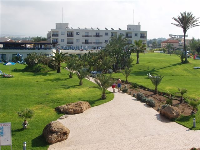 Appartementen Helios Bay - tuin