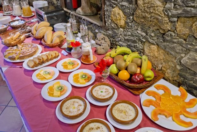 Hotel Tamahuche - ontbijtbuffet