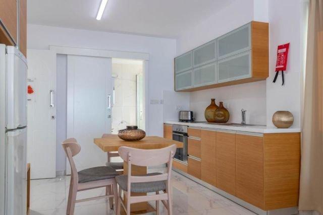 Appartementen Rododafni - keuken