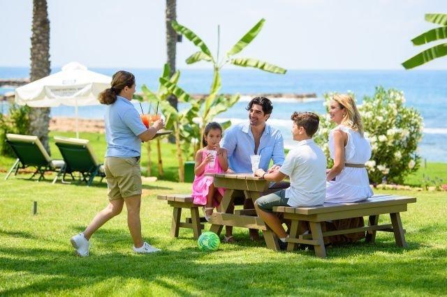 Villa Athena Beach - terras