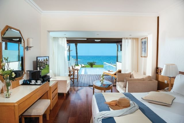 Hotel Athena Beach - kamer met prive pool